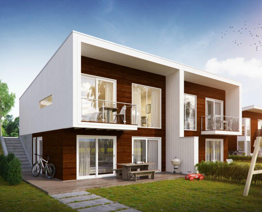 Fanevik bygg - Signalhus 300 Instetunet