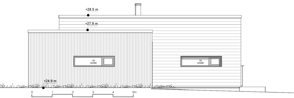 Fanevik bygg Instetunet - Melinda m/garasje nord