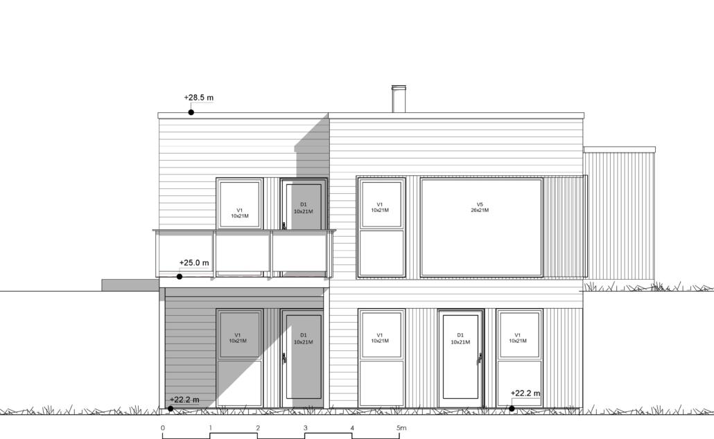 Fanevik bygg Instetunet - Melinda m/garasje sør